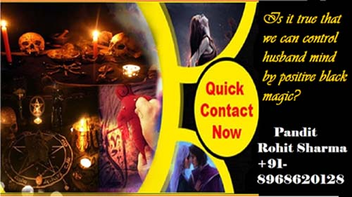 Is it true that we can control husband mind by positive black magic