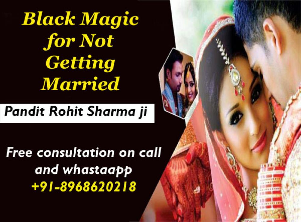 Black magic for not getting married