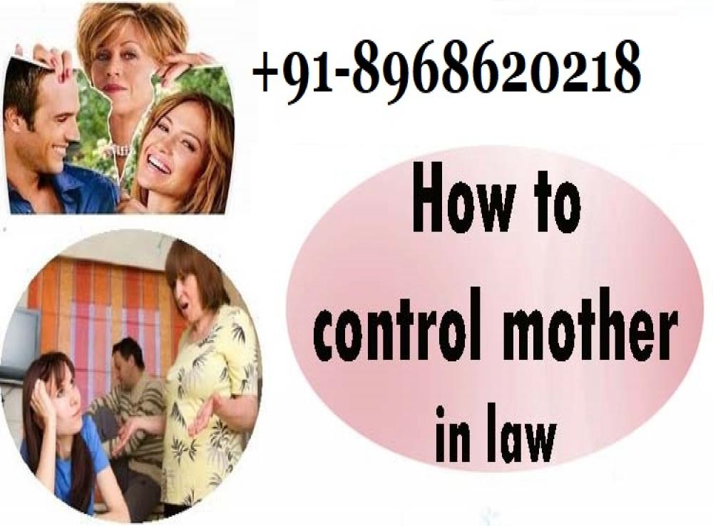 Black magic to control mother in law